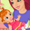 Slatka i smiješna beba
