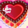 Torta za Valentinovo